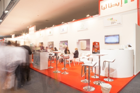 AFIDOP STAND AT GULF FOOD