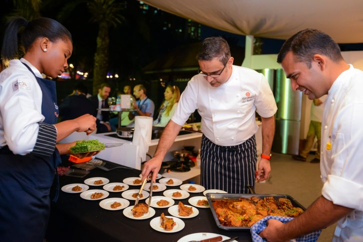 Michelin Star chef Atul Kochhar wowed fans in the Electrolux Chef%27s Secrets feature